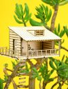 Amazing planthouse: Planthut met schommelstoel