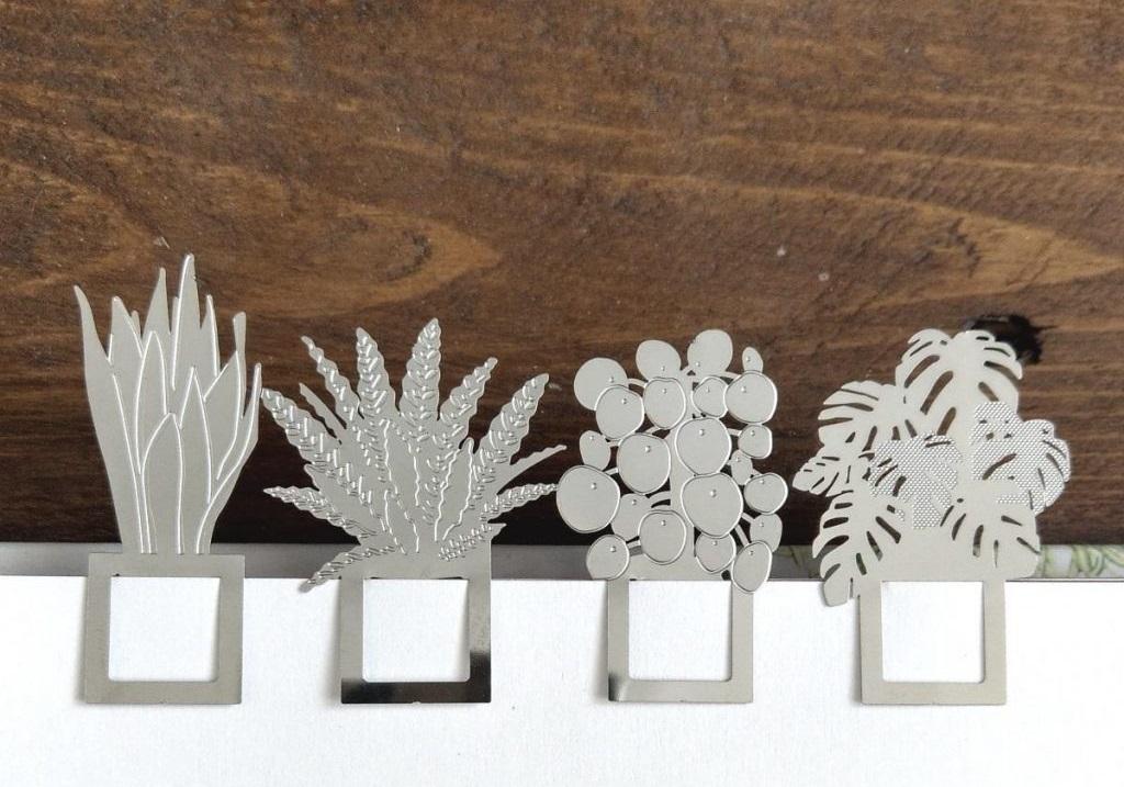 Another Studio bookmarks houseplants boekenleggers kamerplanten