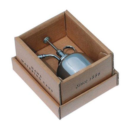 Haws verstuiver plantenspuit 300ml nikkel in doos