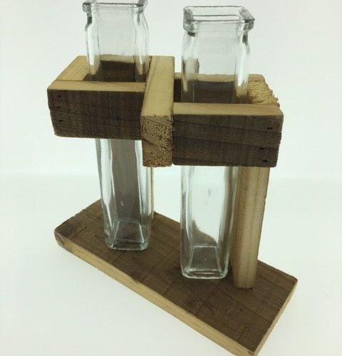 Stekjeshouders dubbele glaasjes