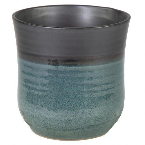 Bloempot-emma-blauw-18x18