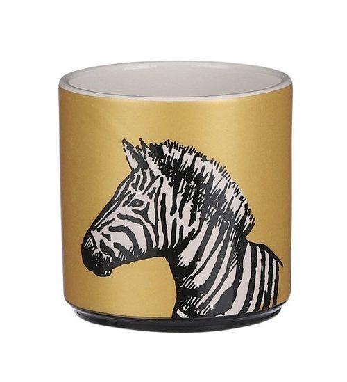 House-of-seasons-bloempot-goud-zebra