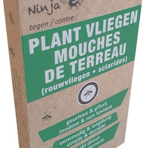 Plant-fly-trap-ninja-rouwvarenmug