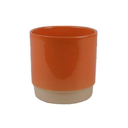 bloempot-eno-13x13-oranje-terra