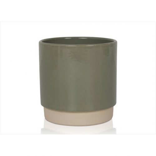 bloempot-eno-13x13-stoffig-groen