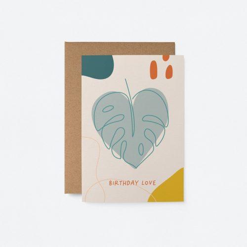 Plantenkamer-graphic-factory-birthday-love-monstera
