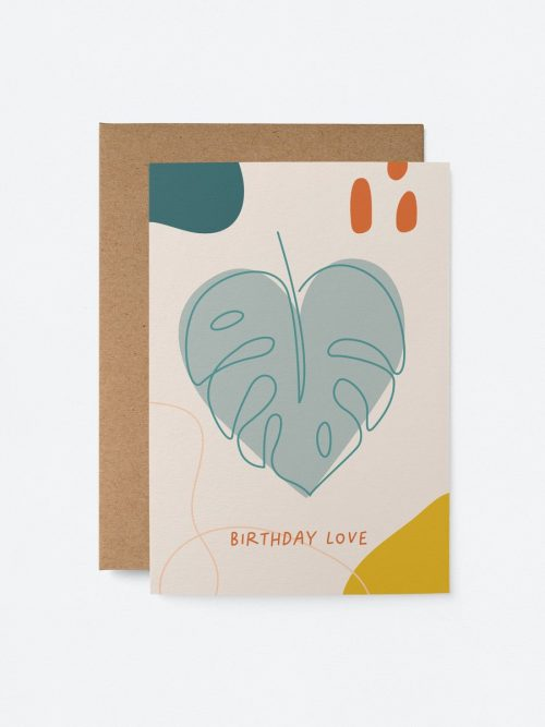 Plantenkamer-graphic-factory-birthday-love-monstera