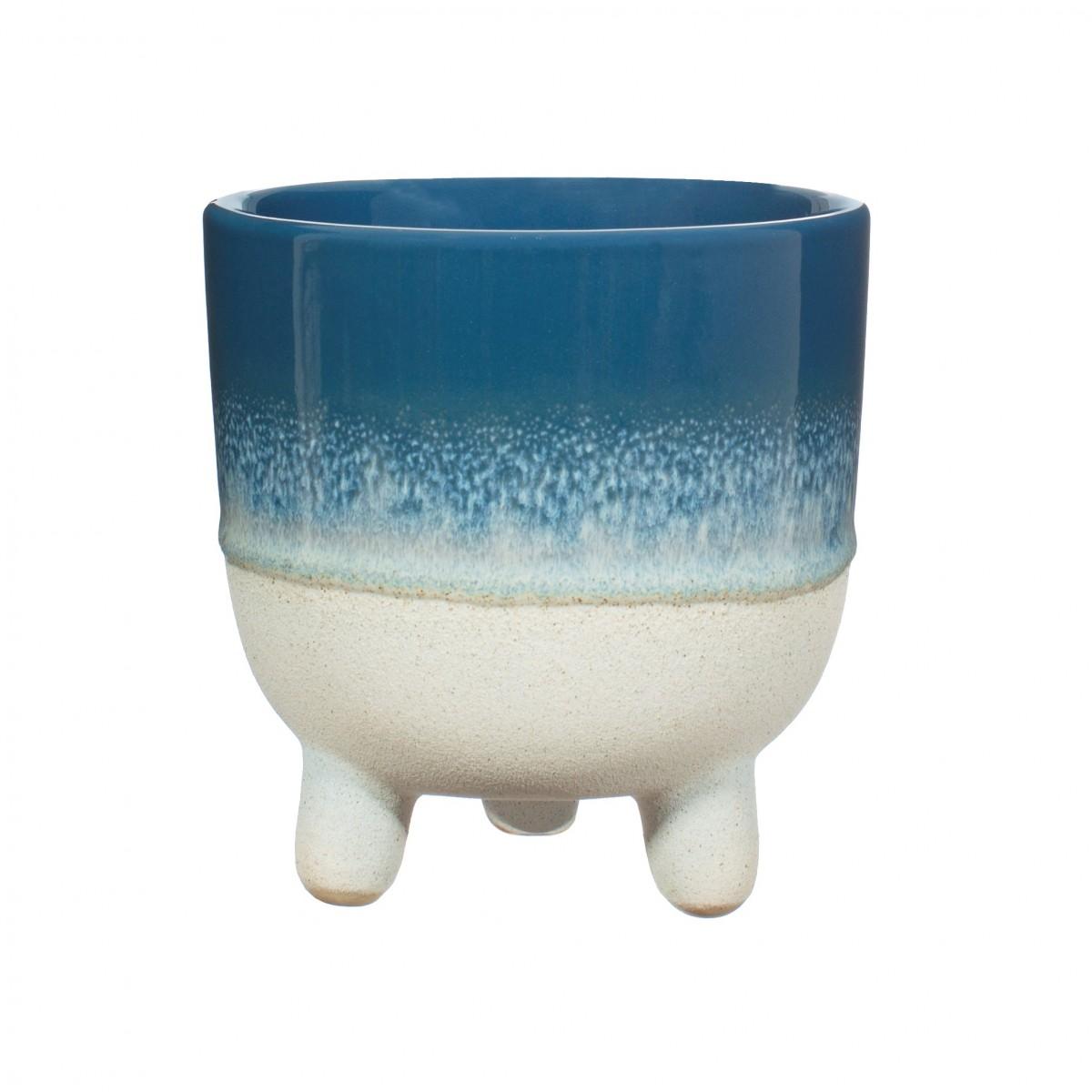Plantenkamer-sass-belle-mojave-glaze-blue-mini-planter