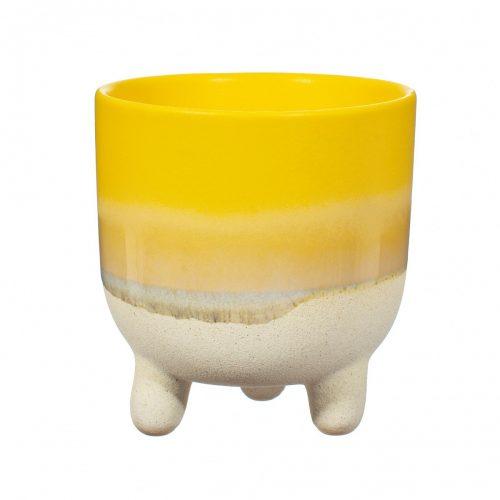 Plantenkamer-sass-belle-mojave-glaze-yellow-large-planter