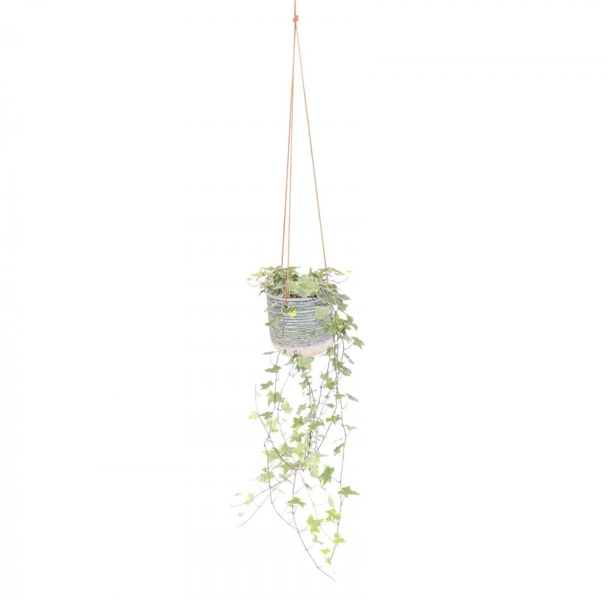 Plantenkamer-issa-blauw-hangpot