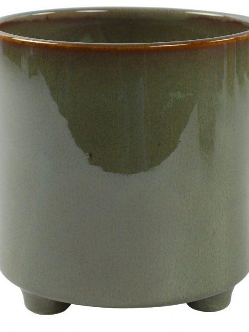 Plantenkamer-romana-bloempot-groen-XL