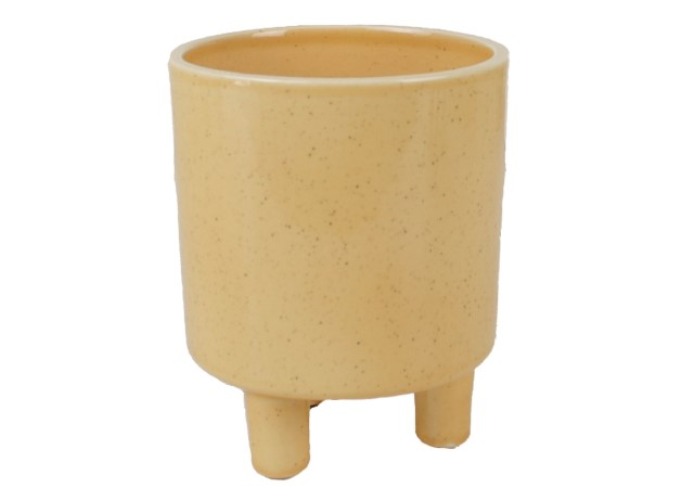 Plantenkamer-bloempot-ceramics-limburg-geel-crus