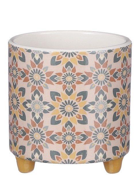 Plantenkamer-mica-decorations-pot-rond-petrol-oker-bruin