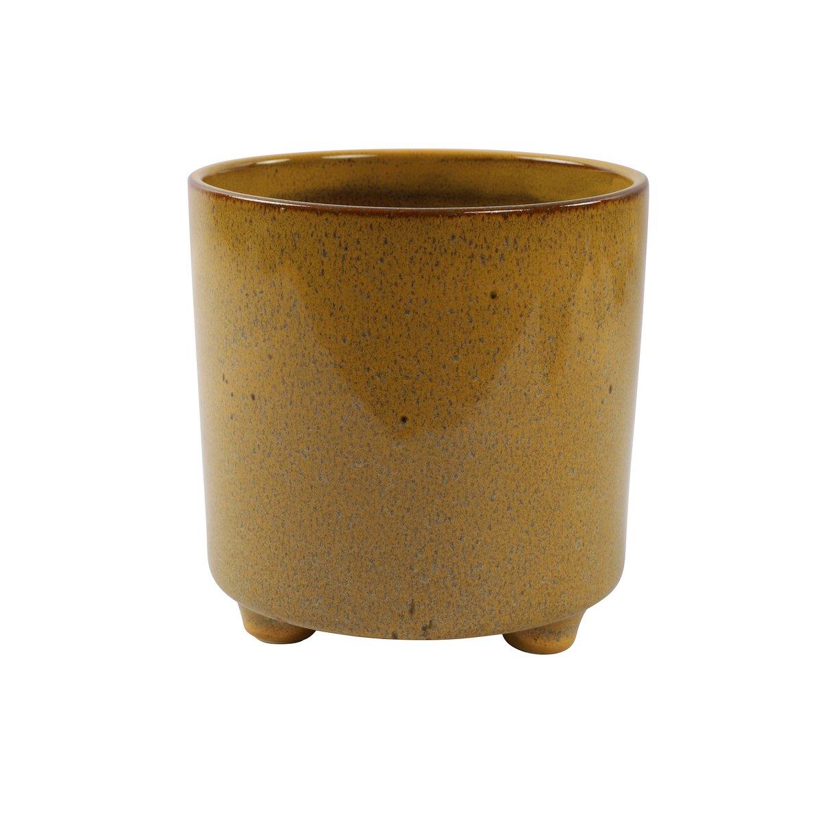 Plantenkamer-romana-bloempot-geel-xl