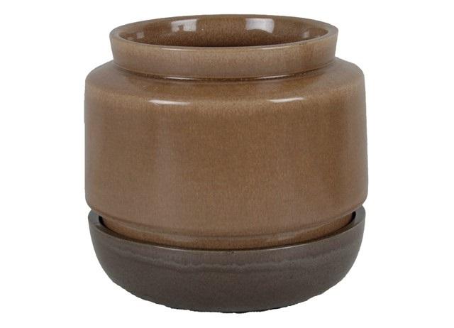 Plantenkamer-Mori-Pot-Bowl-Taupe-Graphite