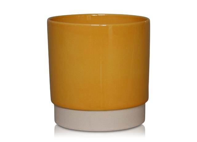 Plantenkamer-ceramics-limburg-eno-okergeel