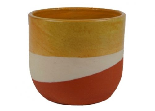 Plantenkamer-ceramics-limburg-tosa-pot-oker