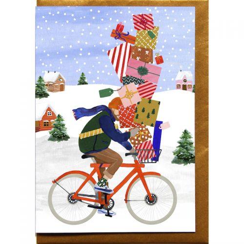 Plantenkamer-kerstkaart-reddish-design-fiets-presents