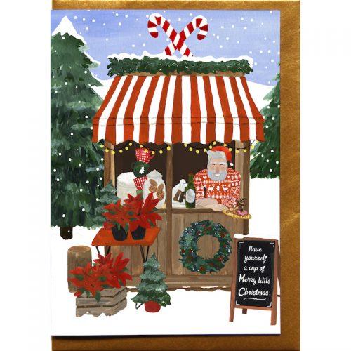 Plantenkamer-kerstkaart-reddish-design-merry-little-christmas